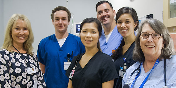 Emergency          department staff