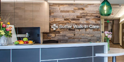 Sutter Walk-In Care interior