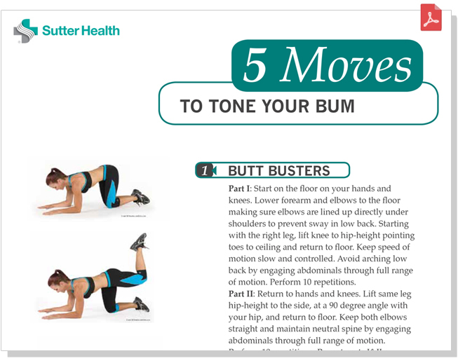 Glute Strengthening Workout