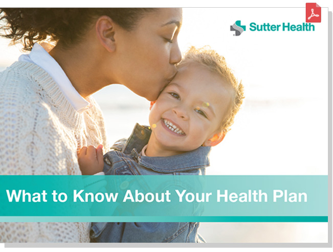 Your Health Insurance Information Guide Sutter Health