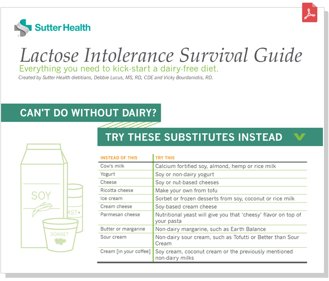 Lactose Intolerant Survival Guide