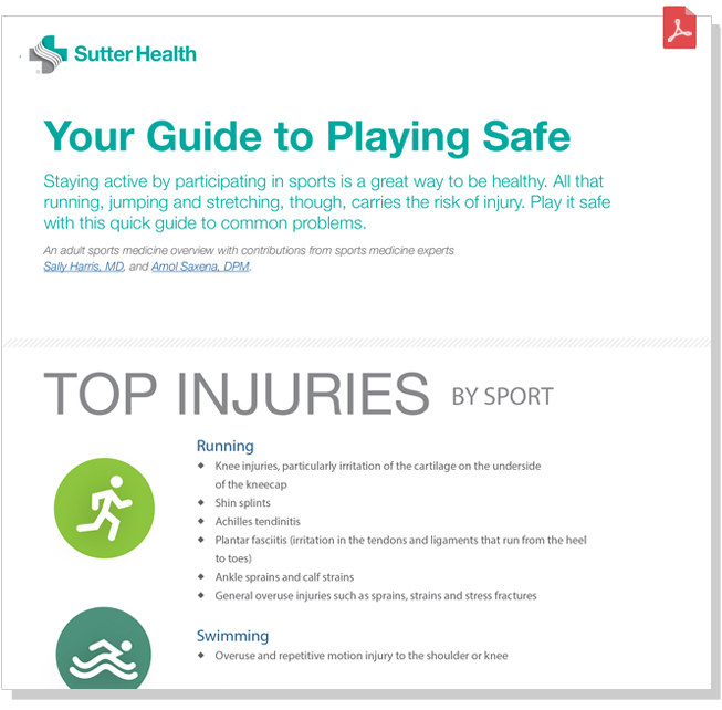 Sports Injury Guide