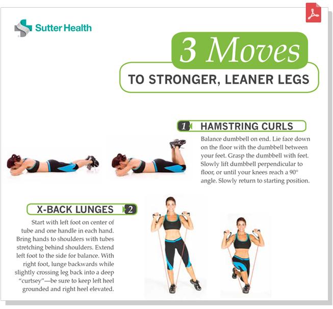 Toned Legs Workout | Sutter Health