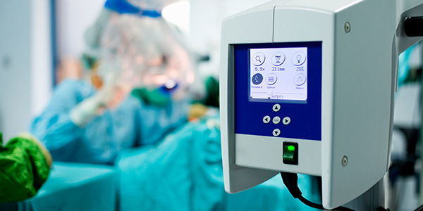 Robotic          surgery monitor
