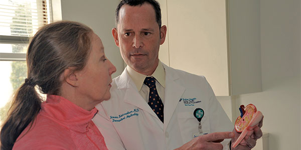 Dr. Steven Katznelson and female patient